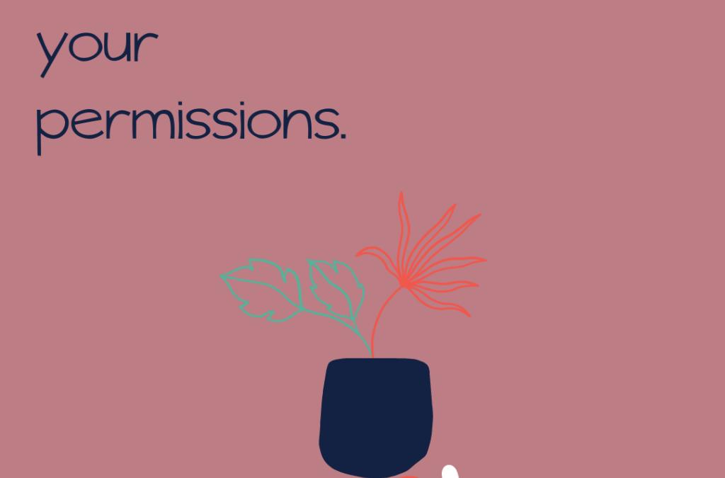 Set your permissions